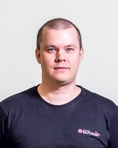 Joakim Forsberg verkstadstekniker i uppsala