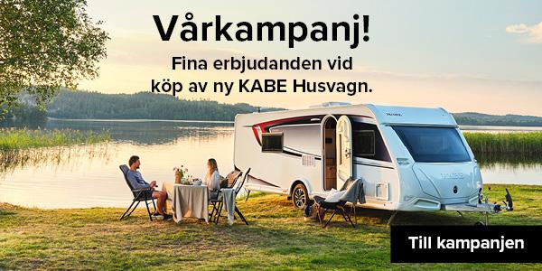 Säkra semestern med Kabe husvagn vårkampanj
